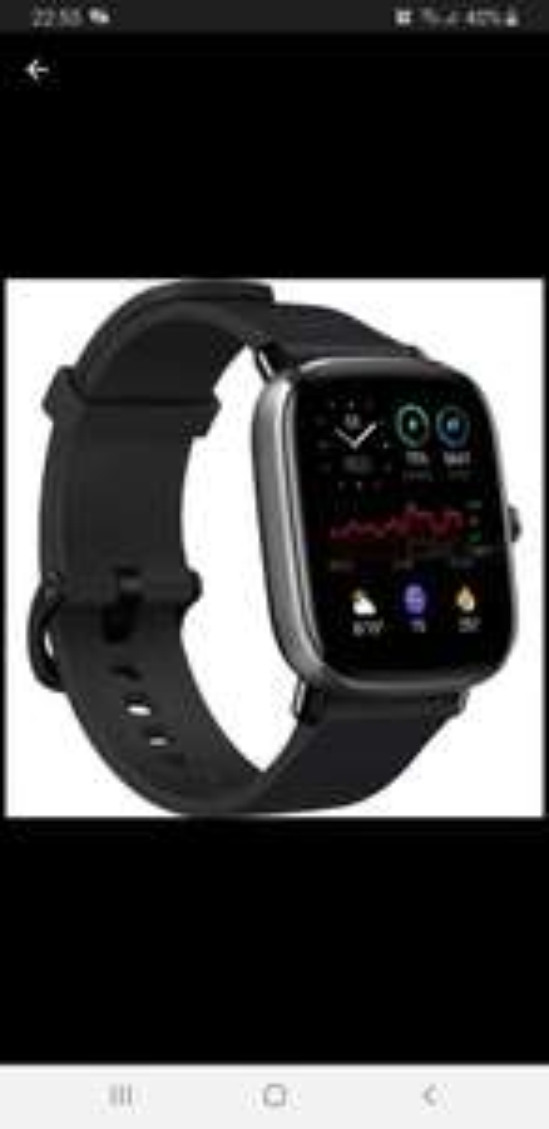 Amazfit GTS2 Mini Smartwatch