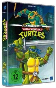 [Amazon.de] Teenage Mutant Ninja Turtles Box 5 & 6 [DVD] Neuer Bestpreis je 9,97 EUR