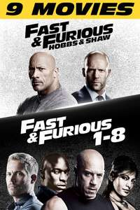 [iTunes] 4K Fast and Furious 1-9 Collection für 24,99€