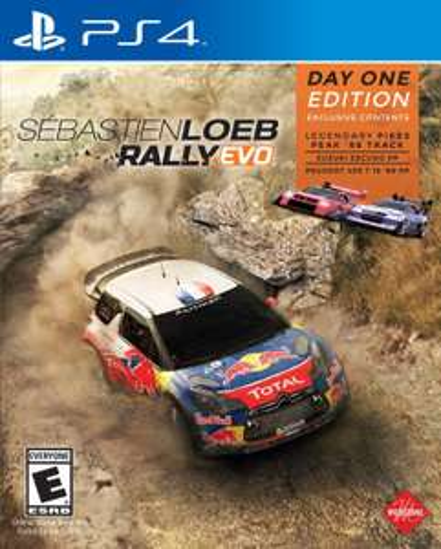 (PS4) Sébastien Loeb Rally EVO (Amazon)