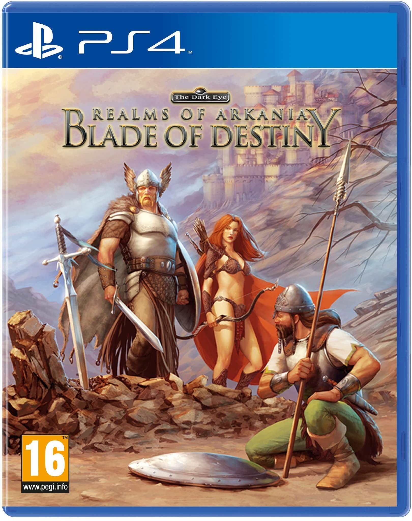 [PS4] Realms of Arkania - Blade of Destiny (Amazon Prime)