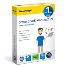 SteuerSparErklärung 2021 für 9,95 € als Download oder 20,40 € als DVD (inkl. Versand) im Spar-Abo (jederzeit kündbar)@Steuertipps.de