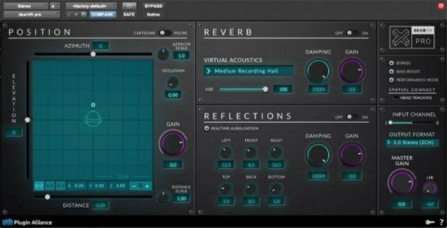 DearVR Pro VST Plugin / 3D Audio Plugin