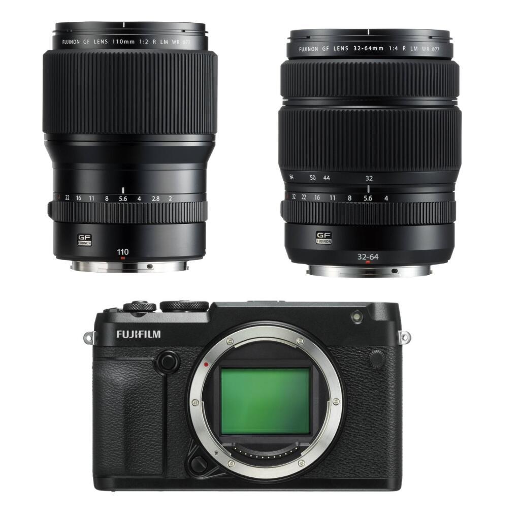 Fujifilm GFX Kamera & Objektiv Sammeldeal: z.B. GF 250mm 1:4 R LM OIS WR für 2717,40€ oder GFX 50R für 3069,71€