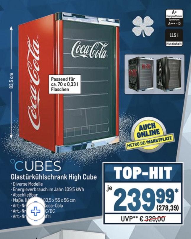 CUBES Getränke-Kühlschrank High Cube 115 l [Lokal vorhanden]