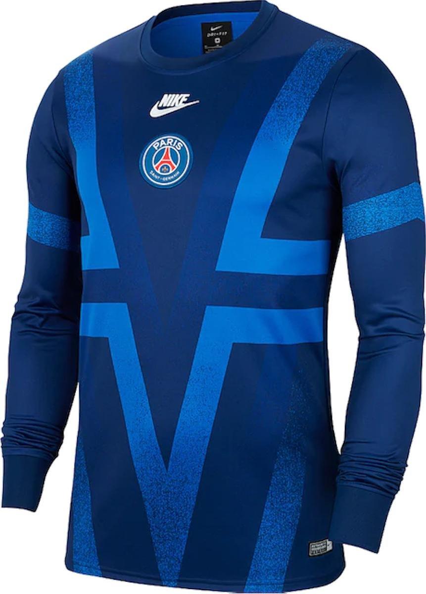 Nike Paris St-Germain Trainingshirt Langarm (L-XXL) für 24,94 Euro