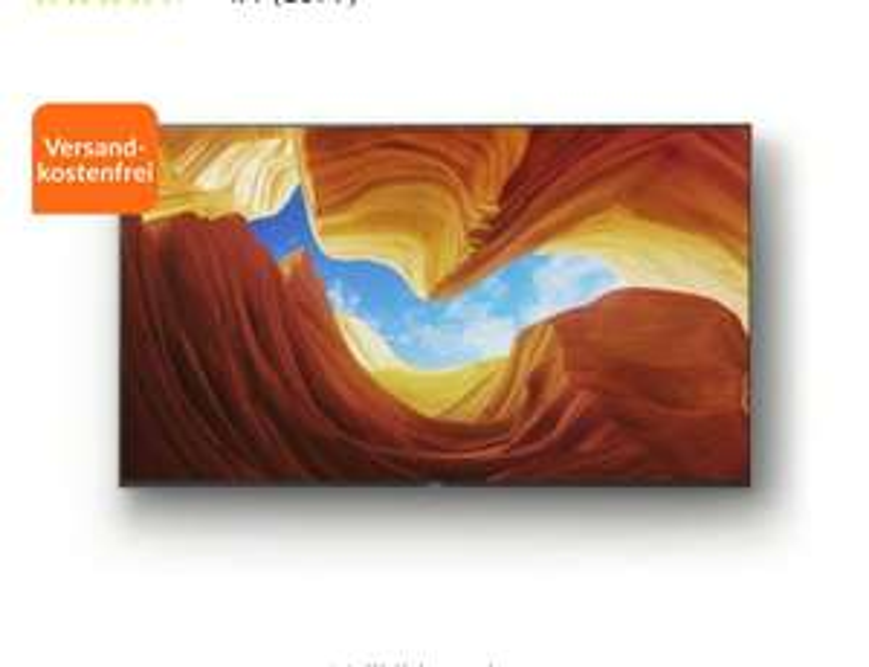Sony KD75XH9299B Full Array LED TV (75 Zoll)