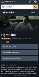 Amazon/iTunes - Fight Club (HD)