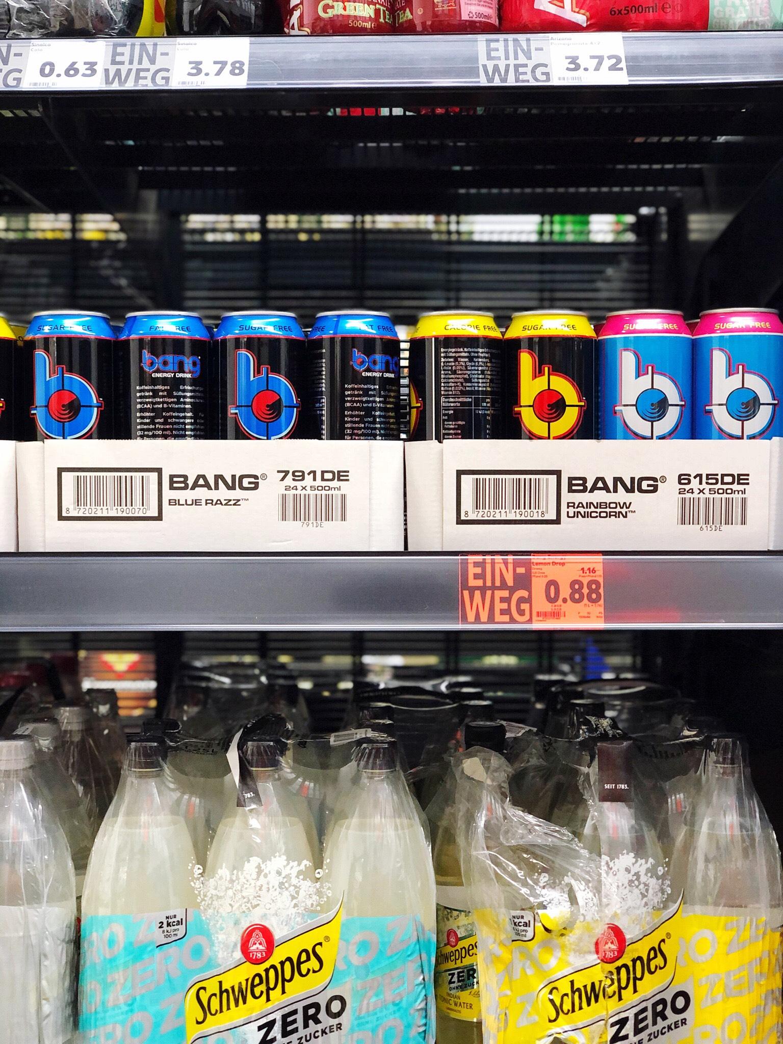 [LOKAL] Kaufland - Heidelberg/Weststadt - Bang Energy Drink (0,5l, vers. Sorten)