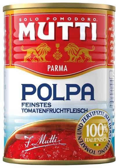 Mutti Polpa di Pomodoro (Dosentomaten) | 3x 400g Dose für 1,60€ (0,53€ pro Dose) bei [Marktkauf Heide Holst]