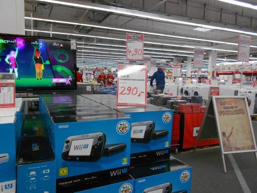 Wii U Premium Pack 290.- Euro. Media Markt Bamberg- Offline