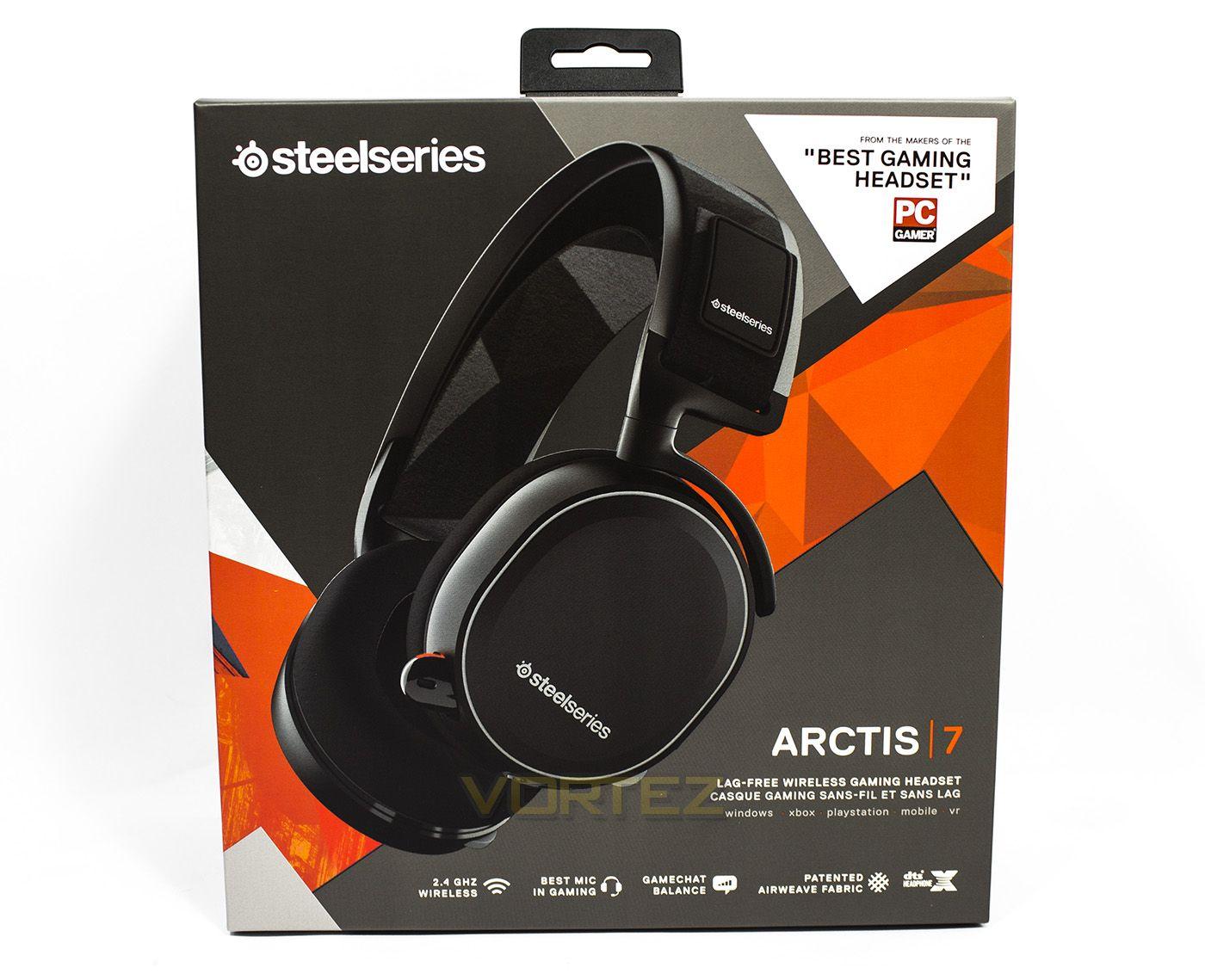 Steelseries Arctis 7 (2019 Edition) leicht gebraucht