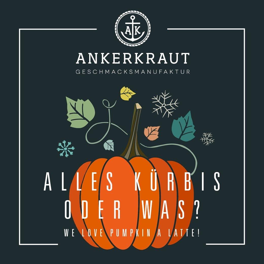 Ankerkraut Pumpkin Spice Latte Glas gratis