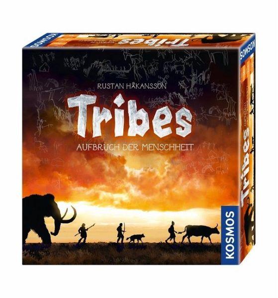 Tribes von KOSMOS Aufbruch der Menschheit. Für 2-4 Spieler. Spieldauer: 45 Min.