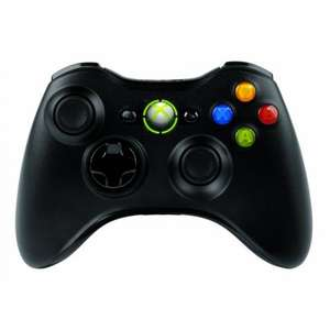 Xbox 360 Wireless Controller - schwarz