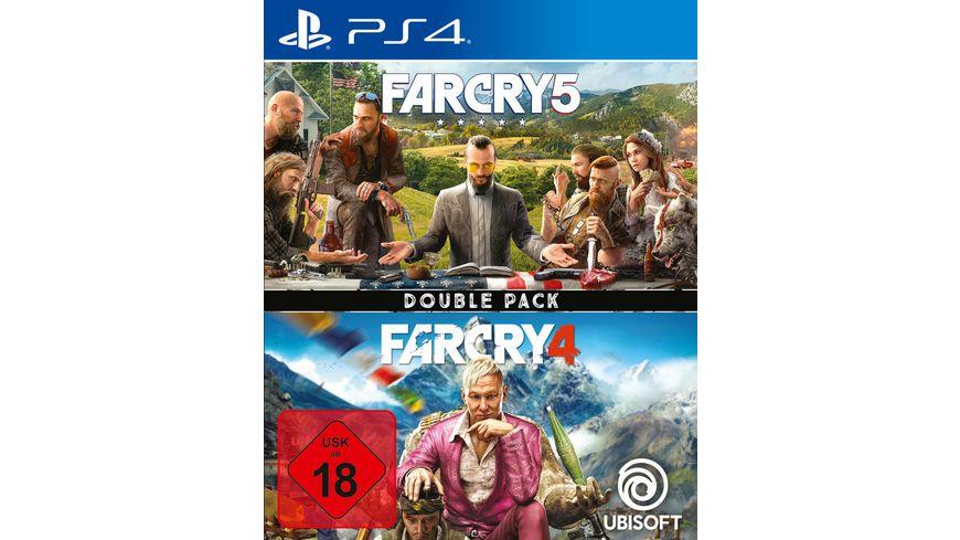 [Müller] Far Cry 4 + Far Cry 5 - Double Pack (PS4) für 19.99 €