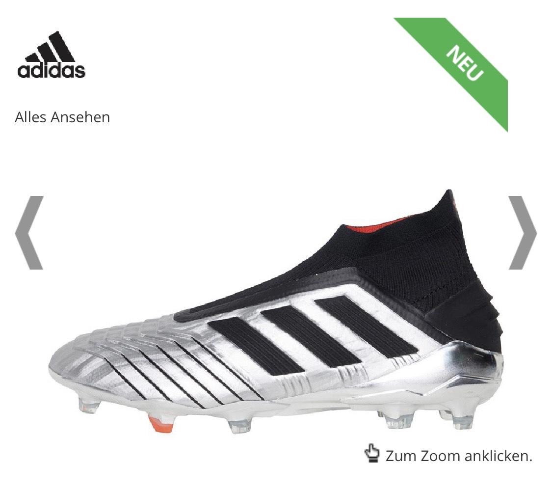 Fußballschuh- Sale z.B Adidas Predator 19+ für 123,95€