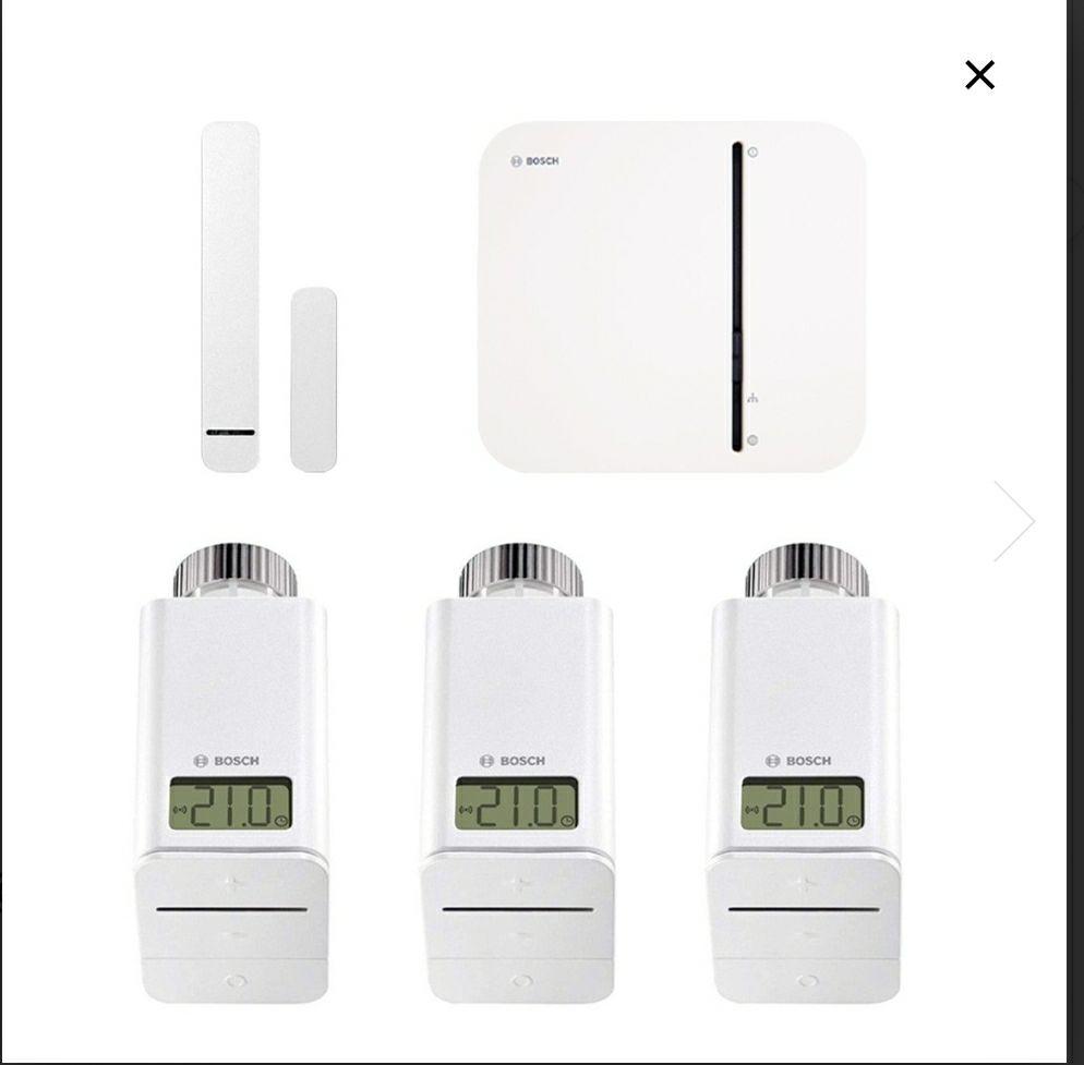 Bosch Smart Home Starter-Set Heizungssteuerung