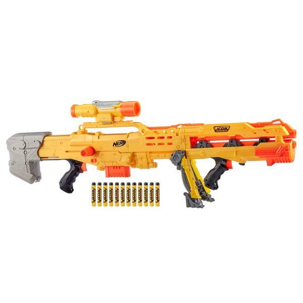 [smythstoys-Sammeldeal] NERF N-Strike Longshot CS-6 Series 3-in-1 Blaster, für 49,99€ online wieder verfügbar, click&collect mgl.