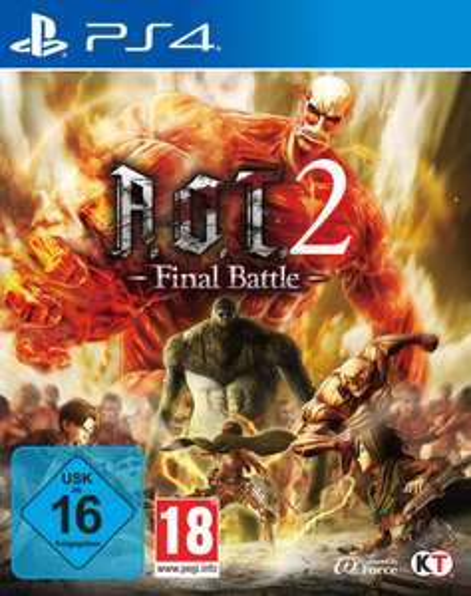[PS4] A.O.T. 2 - Final Battle (Attack on Titan) (Thalia.de)