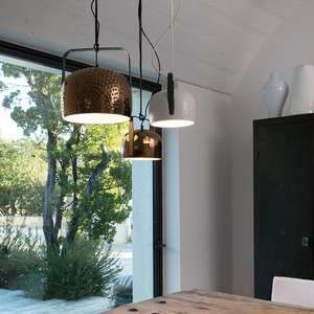 Karman Bag LED Hängeleuchte weiß 21cm Designerleuchte - Phillips Hue geeignet!