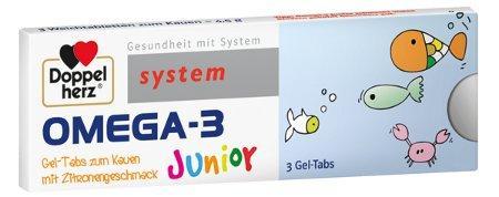 Doppelherz - Omega-3 Junior / Schwangere + Mütter