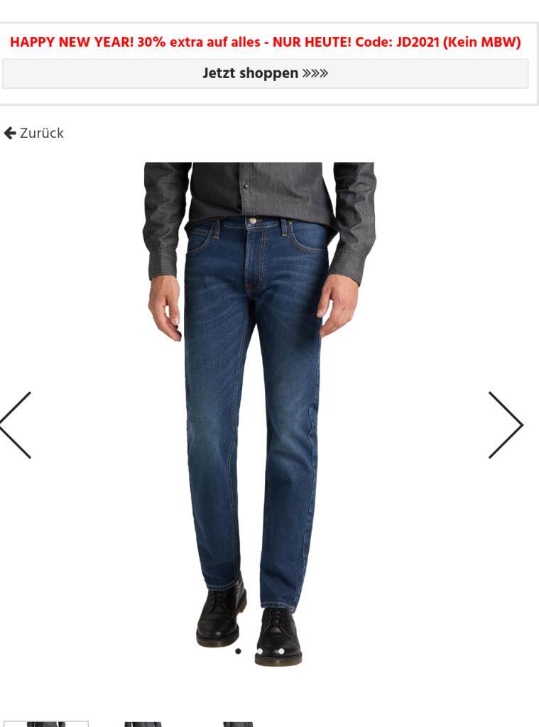 30% auf alles bei Jeans Direct