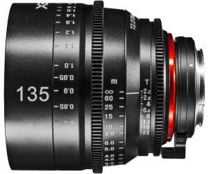 Samyang XEEN Cinema 135mm T2,2 Objektiv für Canon EF-Mount