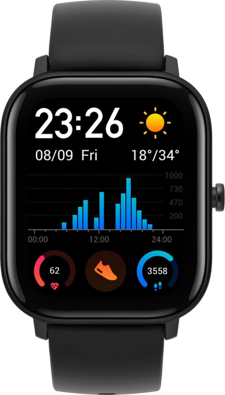 """Amazfit GTS (1.65"""" AMOLED, Bluetooth 5, Alu-Gehäuse, 14 Tage Akku)"""