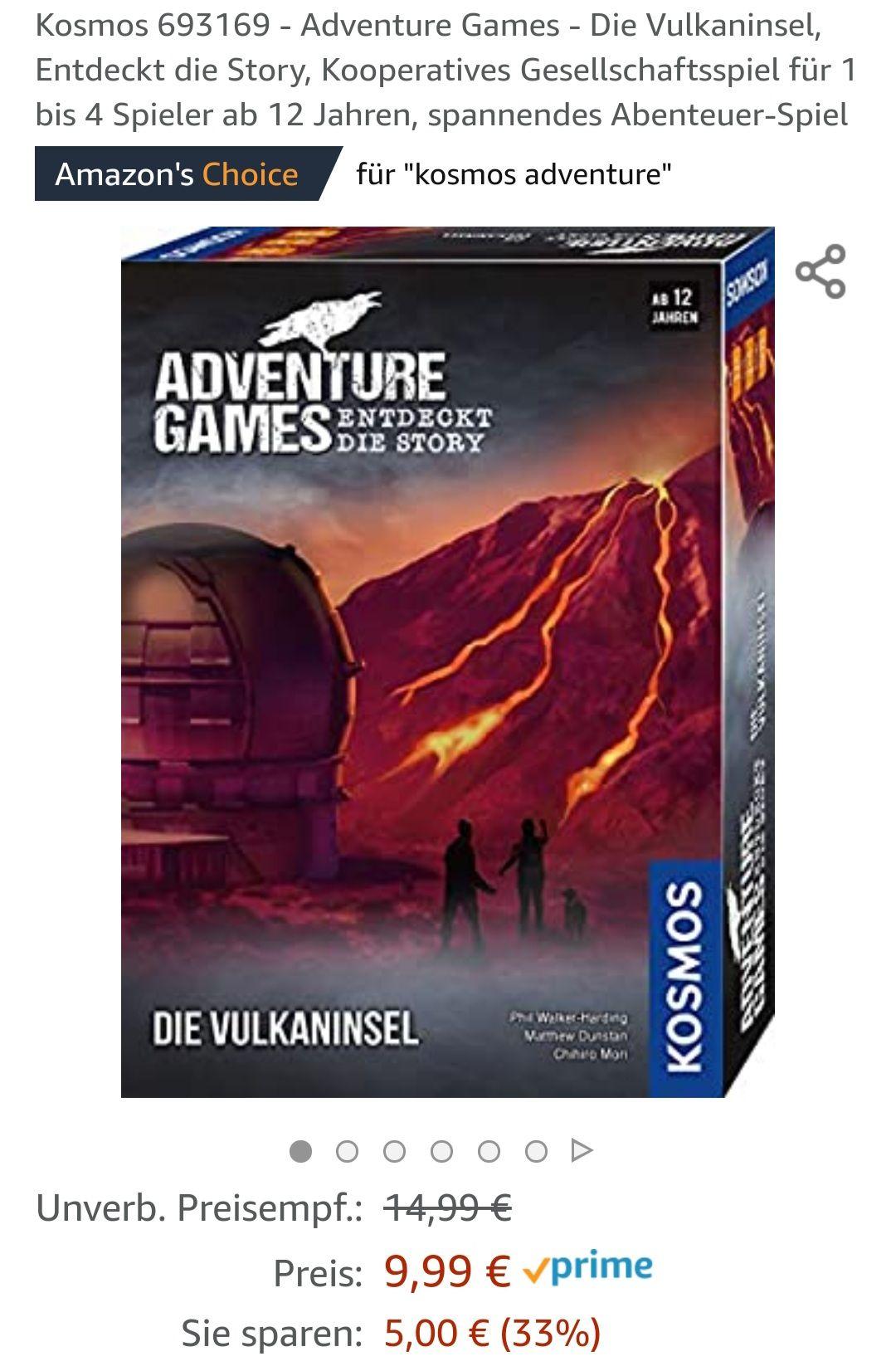 Adventure Games - Amazon prime