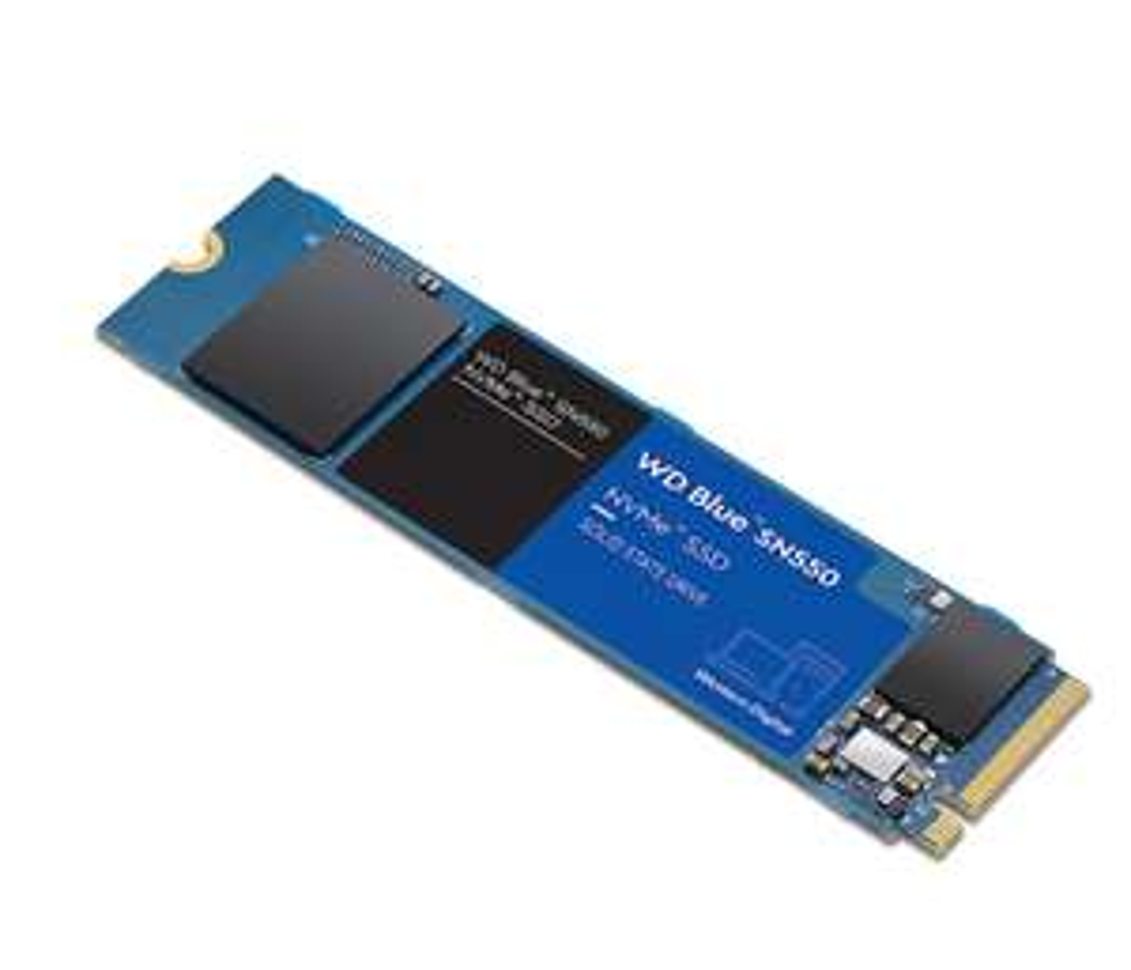 WD Blue SN550 NVMe SSD 2 TB PCIe M.2 2280 + 1% Cashback