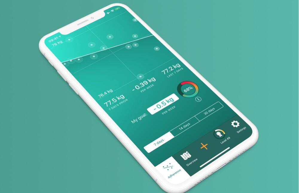 Scelta - Intelligentes Gewichtstagebuch In-Appkauf auf Pro kostenlos (iOS / ipadOS / watchOS)