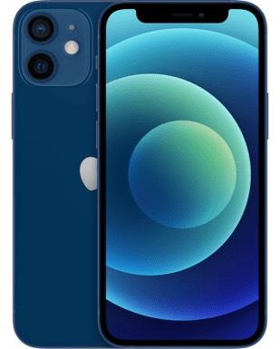 [blau.de] iPhone 12 Mini 64GB, 5GB LTE Datenvolumen, keine Anschlussgebühr, kein 5G