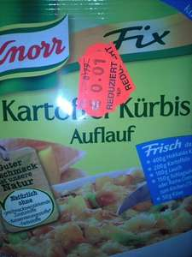 Knorr Fix Kartoffel Kürbis Auflauf -> bei Kaufland [lokal Mayen]