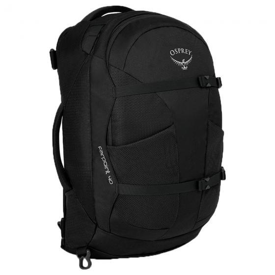 (Markenkoffer) Osprey Farpoint 40 Black Edition M/L (Reise-) Rucksack