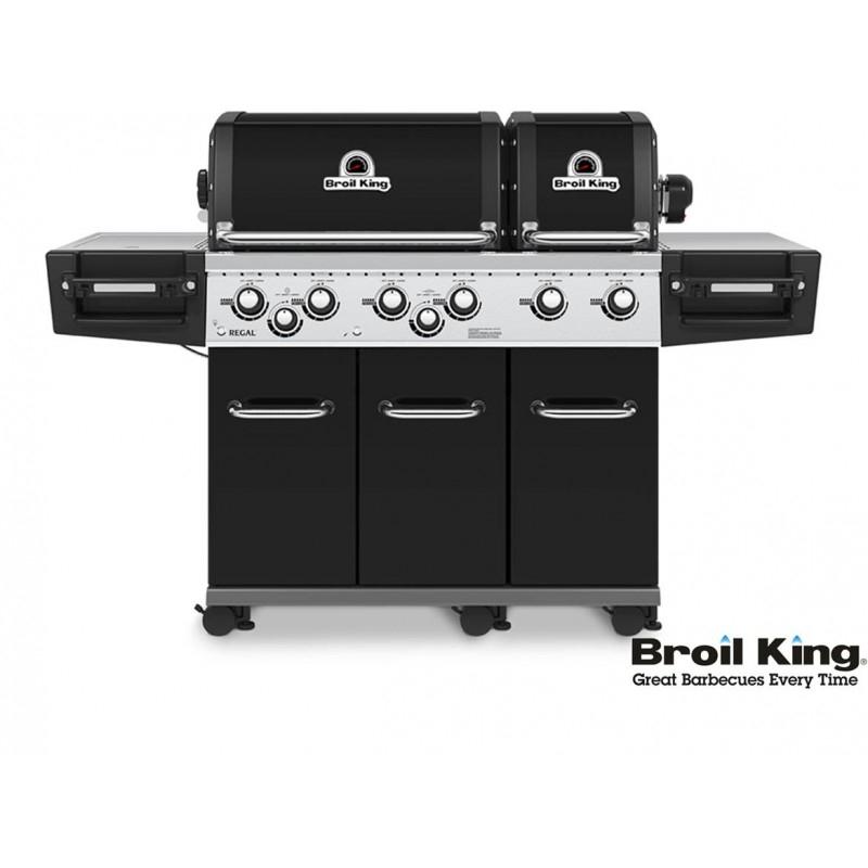 Broil King REGAL 690 XL BLACK inkl. Drehspieß Sonderverkauf