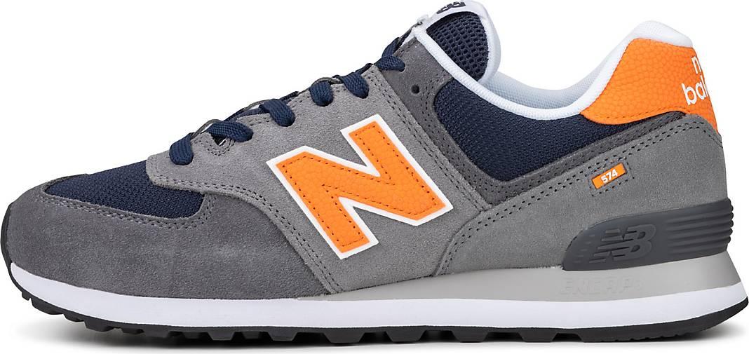 New Balance 574 Herren Sneakers in grau (42-45) für 43,98 Euro