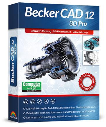 BeckerCAD 12 3D Pro für Windows (Download)