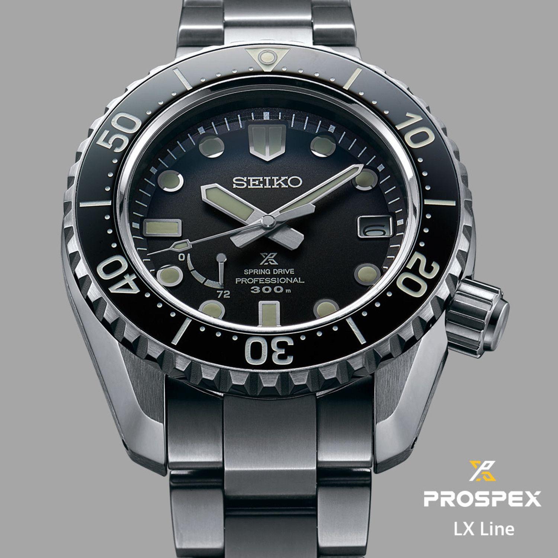 Seiko Prospex LX Spring Drive Professional Diver SNR029J1 - Japan Made Premium Automatikuhr