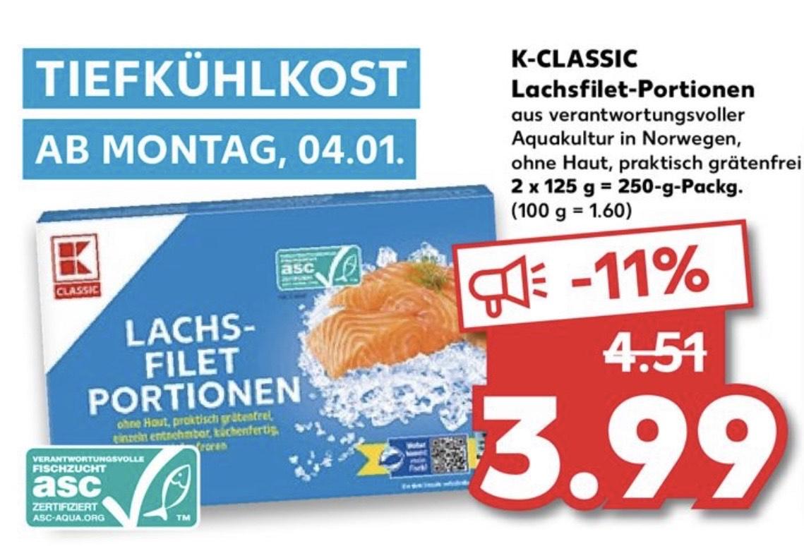 TK-Lachsfilet 2x125g