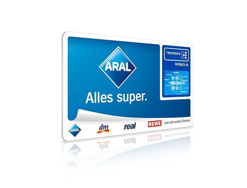 Aral Payback Punkte-Rennen mehrere Serien bis zu 12fach bis 21.02.2021