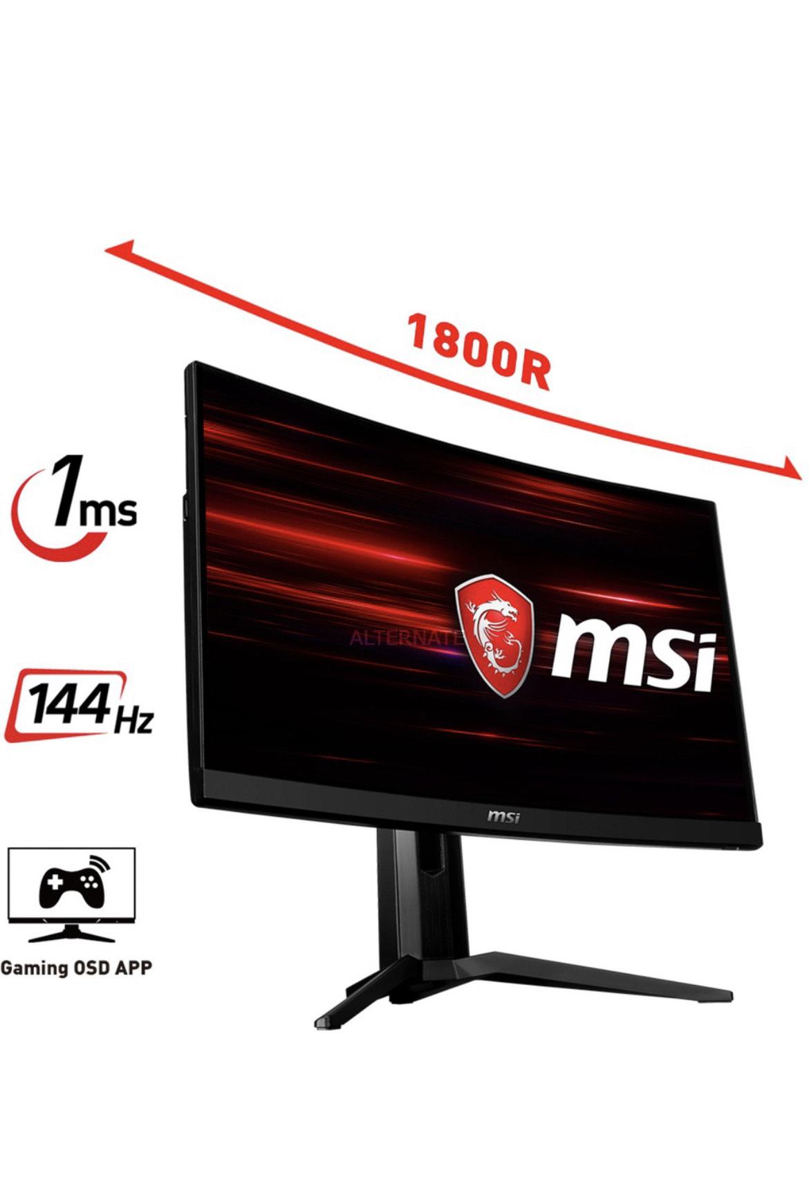 """MSI Optix MAG271CP 27"""" Gaming Monitor"""