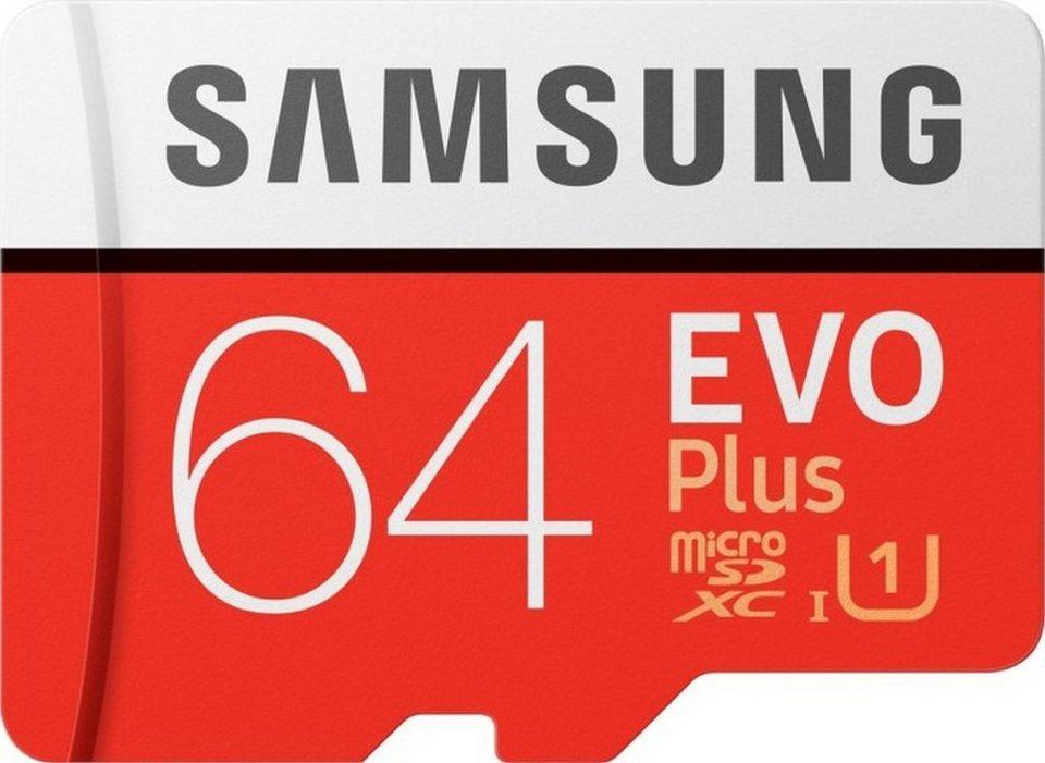 [OTTO up!] Samsung 64 GB 9€ & 256 GB 29,99€ »EVO Plus microSD« Speicherkarte