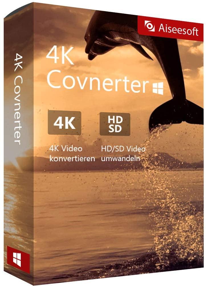 [Windows] Aiseesoft 4K Converter (Videobearbeitung) | (Jahreslizenz)