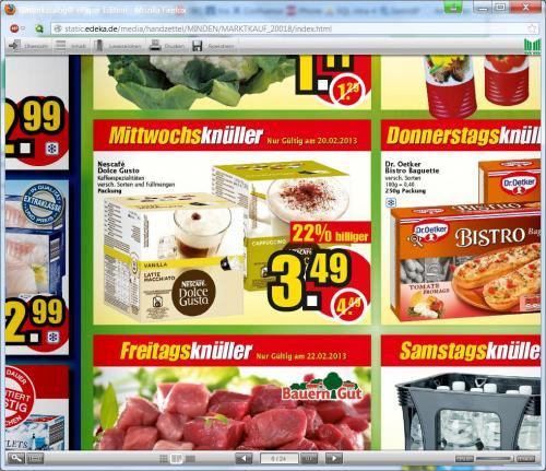 Marktkauf Löhne: Dolce Gusto nur Mittwoch für 3,49