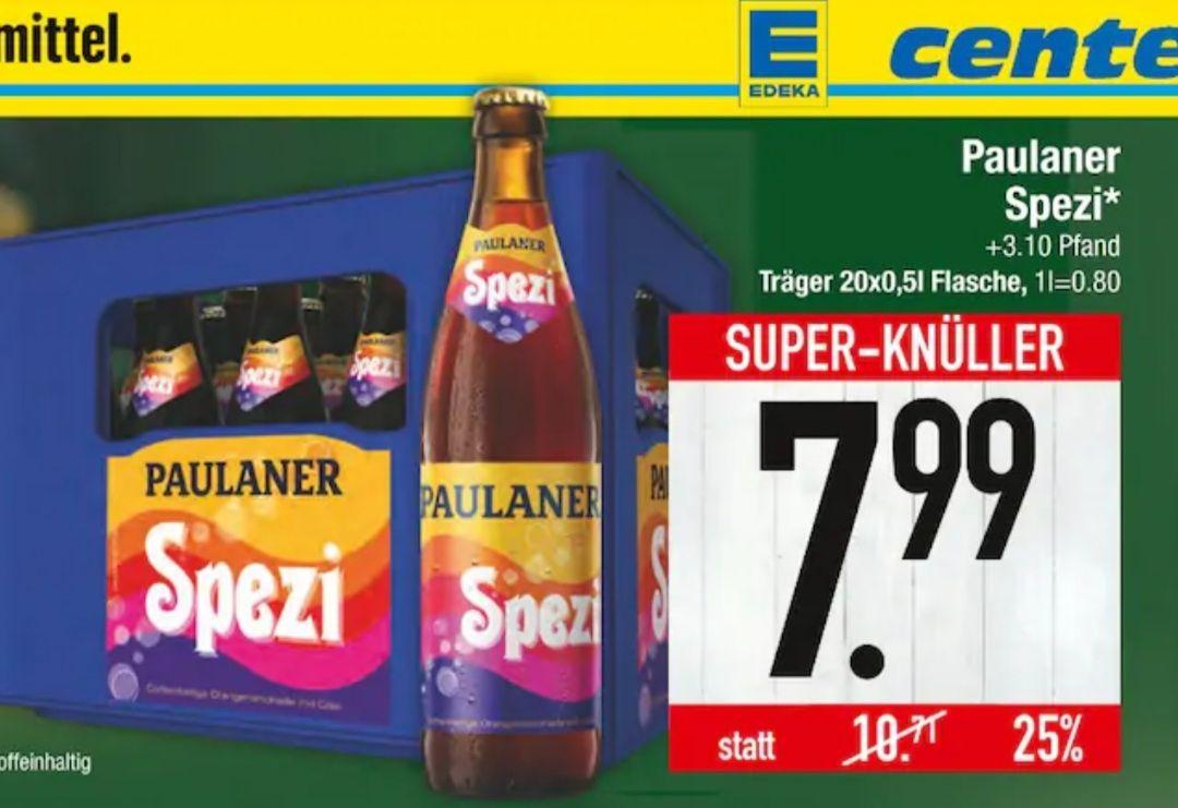 [Edeka Südbayern] Paulaner Spezi 20x0,5l