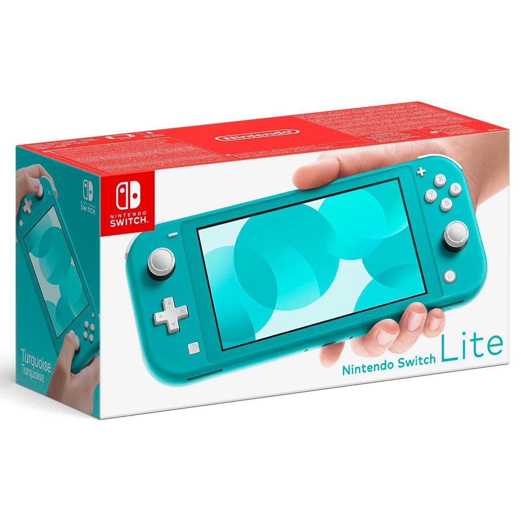 [Nur Maingau-Energie Kunden] Nintendo Switch Lite türkis für 167,95€ inc. Versand