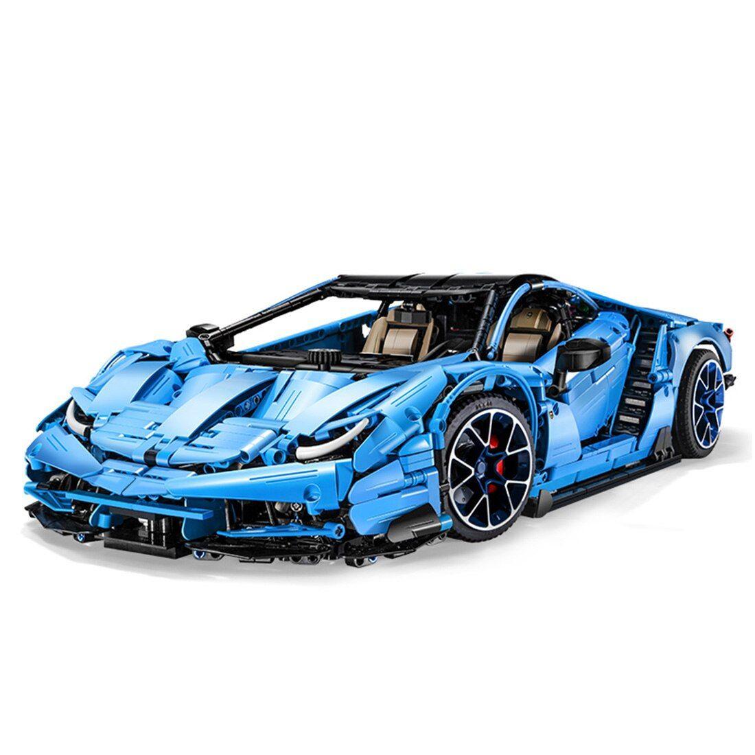 Cada Master C61041: Lamborghini Centenario Klemmbausteine (3842 Teile, Maßstab 1:8, V12 Replikmotor, 7-Gang-Schaltgetriebe)