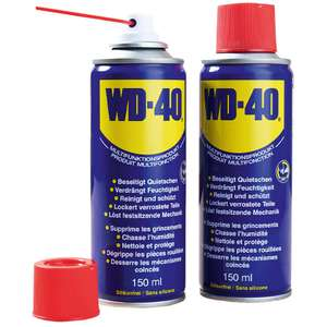 WD-40 Classic Mup 5in1 Multifunktionsöl 2er-Pack 300 ml (2x 150 ml)