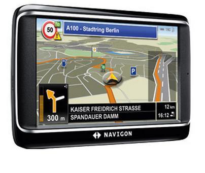 Navigon 40 Premium - 43 Länder - 4,3 Zoll